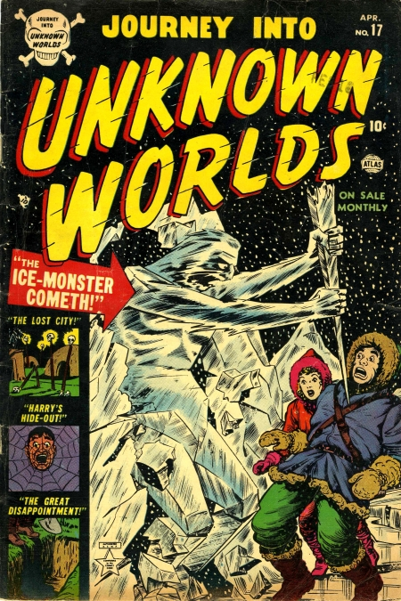 Journey Into Unknown Worlds 17 Cover Image