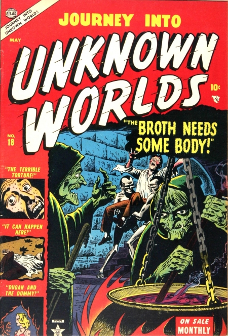 Journey Into Unknown Worlds 18 Cover Image