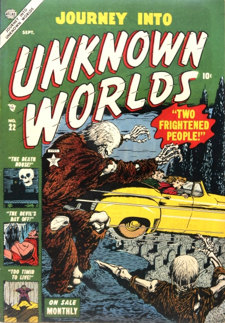 Journey Into Unknown Worlds 22 Cover Image