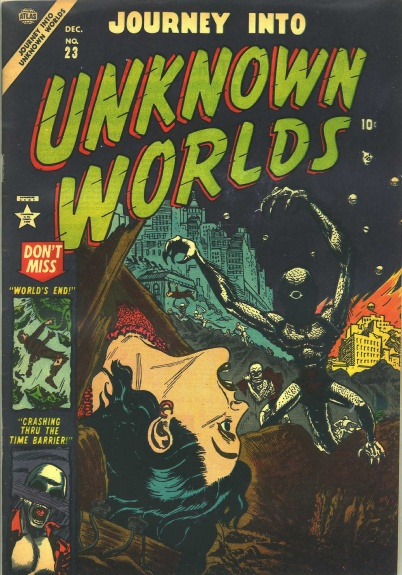 Journey Into Unknown Worlds 23 Cover Image