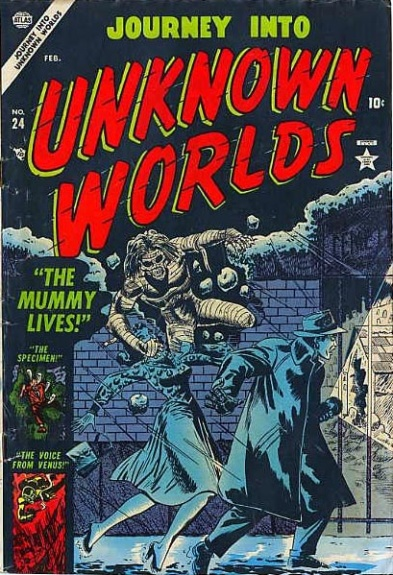 Journey Into Unknown Worlds 24 Cover Image