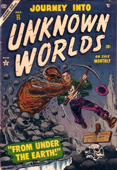 Journey Into Unknown Worlds 25 Cover Image