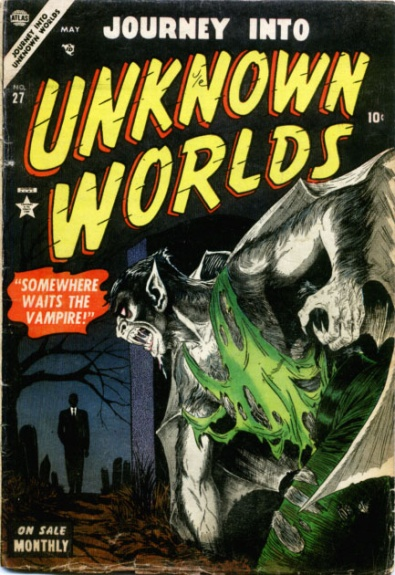 Journey Into Unknown Worlds 27 Cover Image
