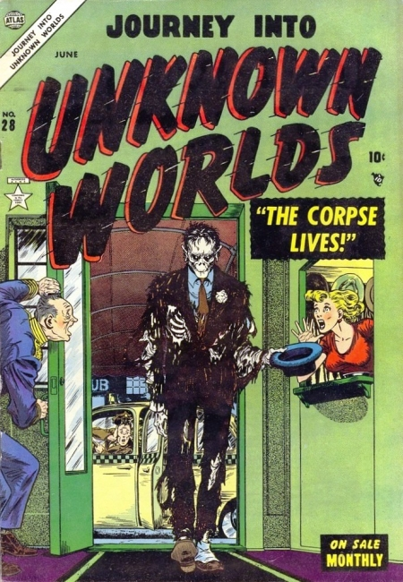 Journey Into Unknown Worlds 28 Cover Image