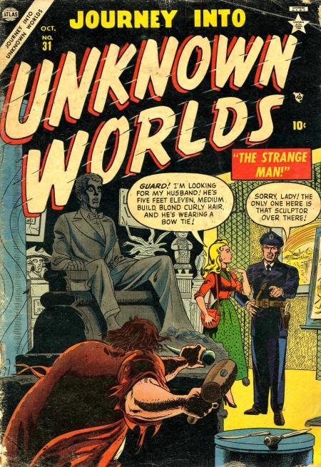 Journey Into Unknown Worlds 31 Cover Image