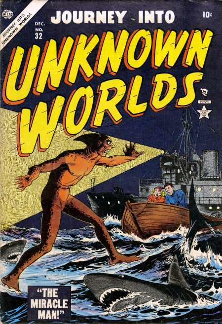 Journey Into Unknown Worlds 32 Cover Image
