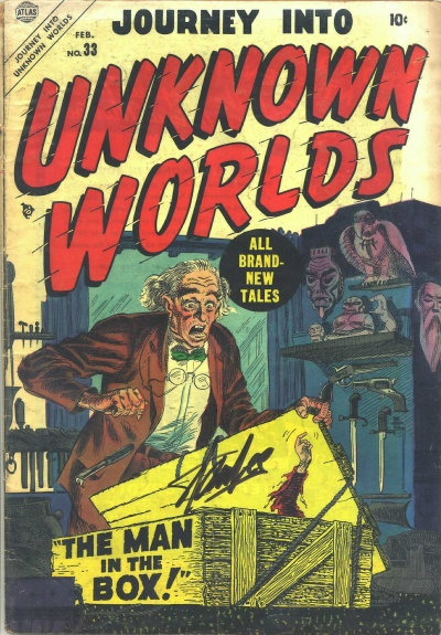 Journey Into Unknown Worlds 33 Cover Image