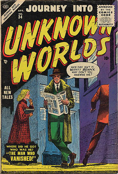 Journey Into Unknown Worlds 34 Cover Image