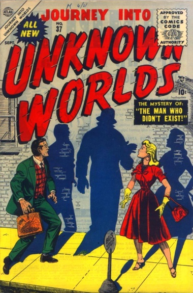 Journey Into Unknown Worlds 37 Cover Image