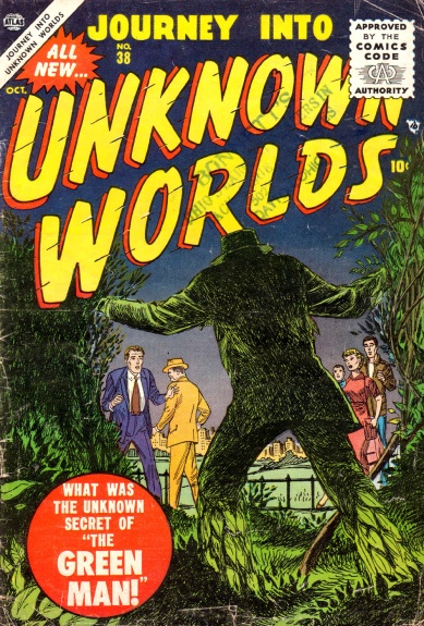 Journey Into Unknown Worlds 38 Cover Image