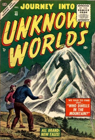 Journey Into Unknown Worlds 40 Cover Image