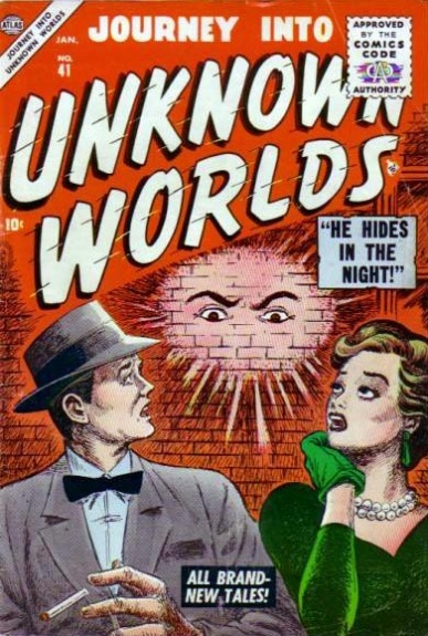 Journey Into Unknown Worlds 41 Cover Image