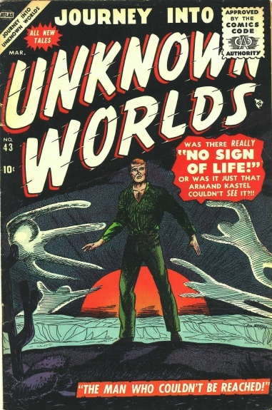 Journey Into Unknown Worlds 43 Cover Image