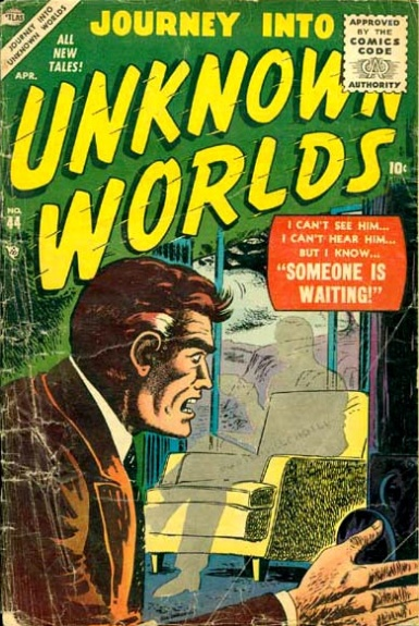 Journey Into Unknown Worlds 44 Cover Image