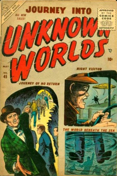 Journey Into Unknown Worlds 45 Cover Image