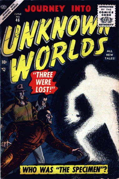 Journey Into Unknown Worlds 46 Cover Image
