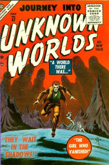 Journey Into Unknown Worlds 47 Cover Image