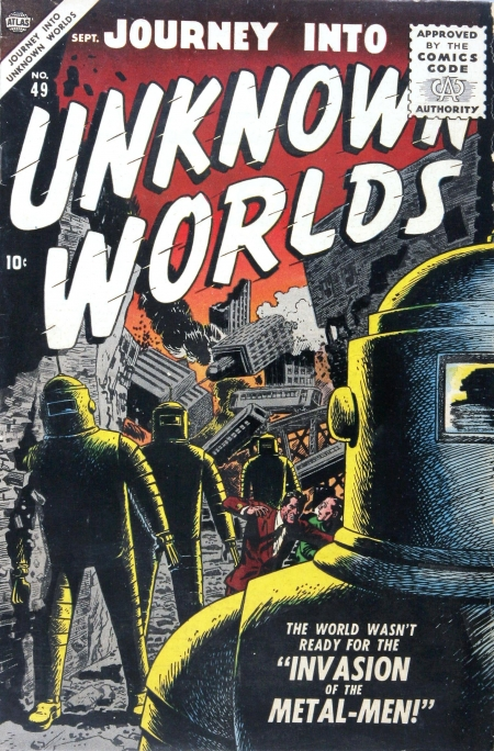 Journey Into Unknown Worlds 49 Cover Image