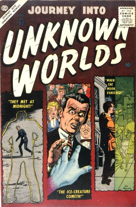 Journey Into Unknown Worlds 52 Cover Image