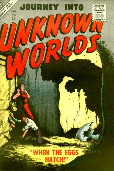 Journey Into Unknown Worlds 53 Cover Image