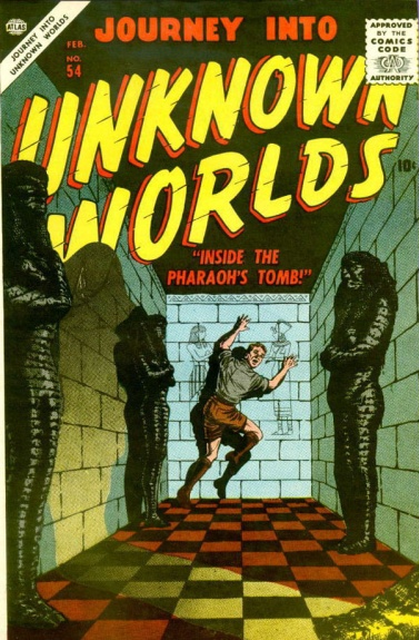 Journey Into Unknown Worlds 54 Cover Image