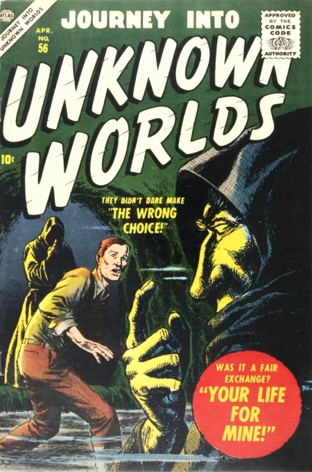 Journey Into Unknown Worlds 56 Cover Image