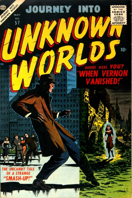 Journey Into Unknown Worlds 57 Cover Image