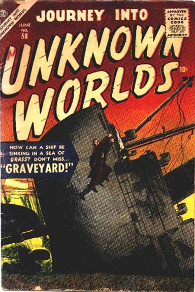 Journey Into Unknown Worlds 58 Cover Image