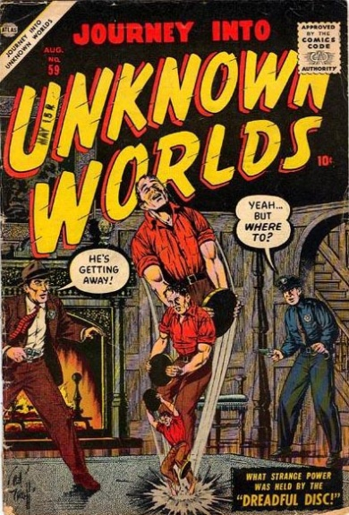 Journey Into Unknown Worlds 59 Cover Image