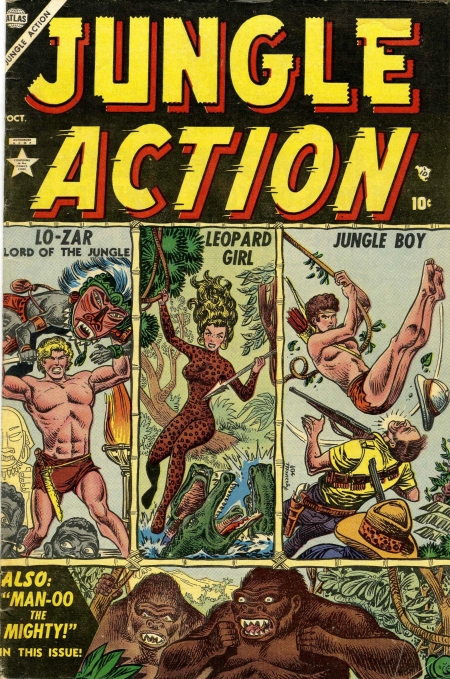 Jungle Action 1 Cover Image