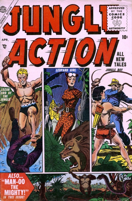 Jungle Action 4 Cover Image