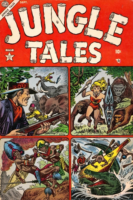 Jungle Tales 1 Cover Image
