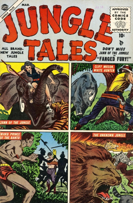 Jungle Tales 4 Cover Image