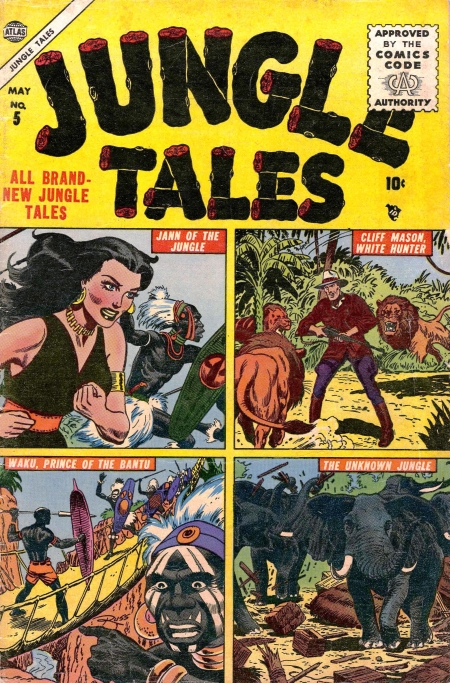 Jungle Tales 5 Cover Image