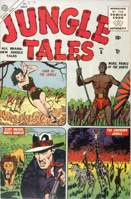 Jungle Tales 6 Cover Image