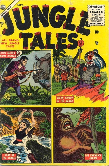 Jungle Tales 7 Cover Image