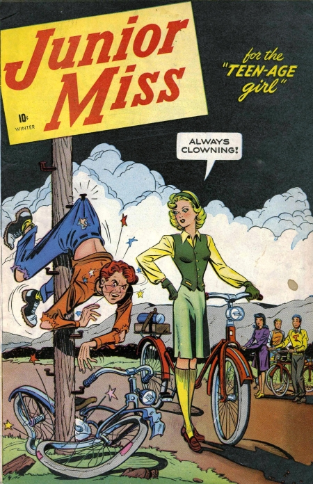 Junior Miss 1 Cover Image