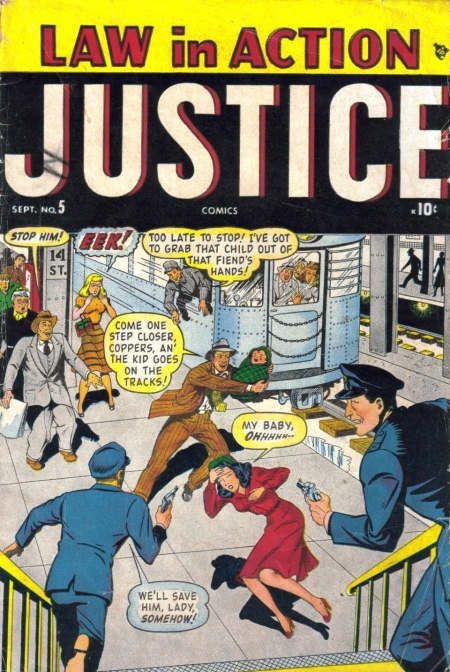 Justice 5 Cover Image
