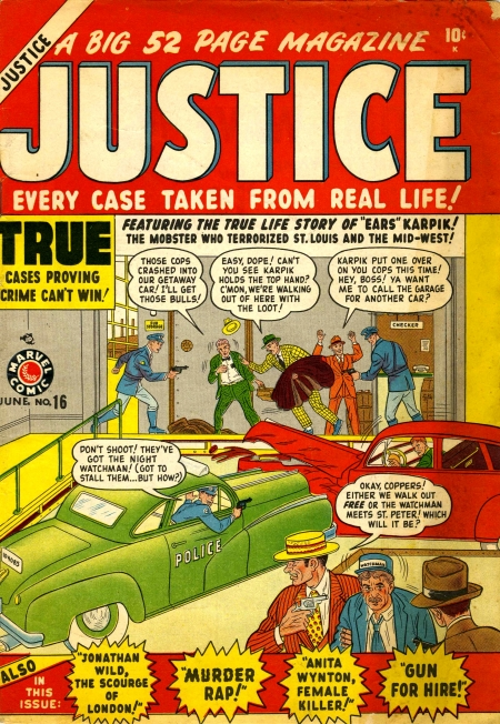 Justice 16 Cover Image