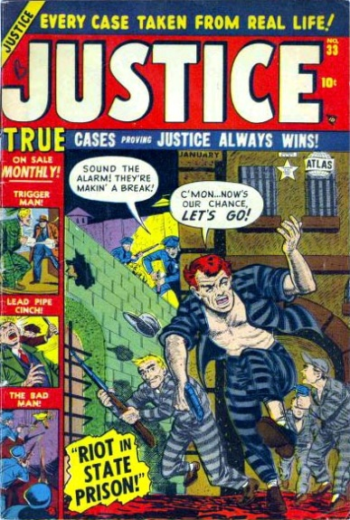 Justice 33 Cover Image