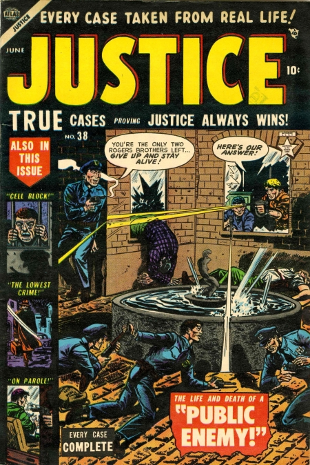 Justice 38 Cover Image