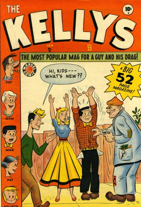 The Kellys 23 Cover Image