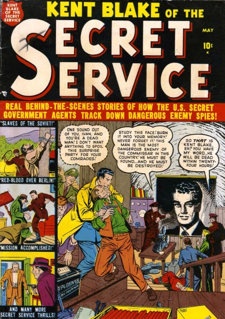 Kent Blake of the Secret Service 1 Cover Image