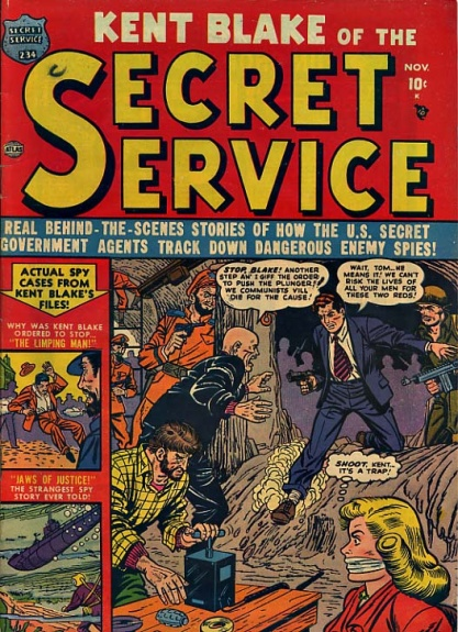 Kent Blake of the Secret Service 4 Cover Image