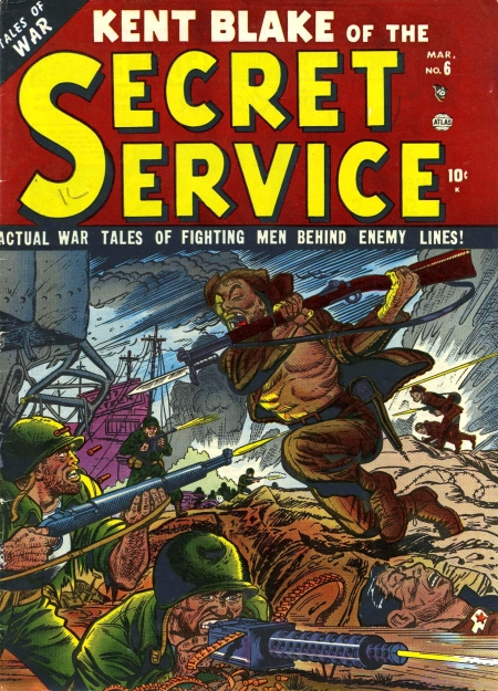 Kent Blake of the Secret Service 6 Cover Image