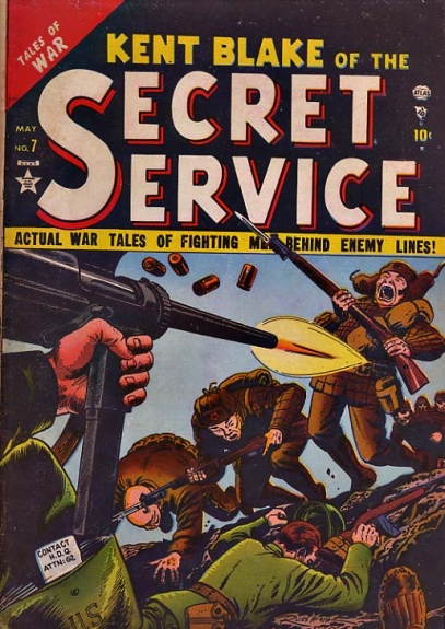 Kent Blake of the Secret Service 7 Cover Image