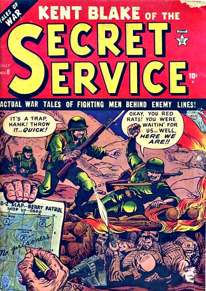 Kent Blake of the Secret Service 8 Cover Image