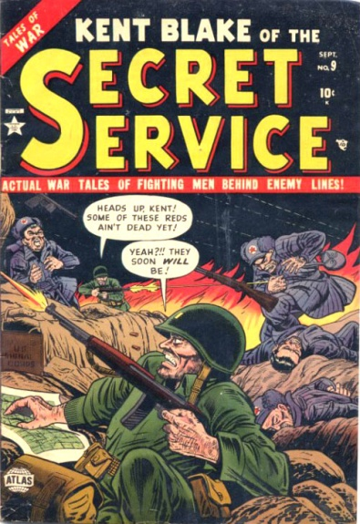 Kent Blake of the Secret Service 9 Cover Image