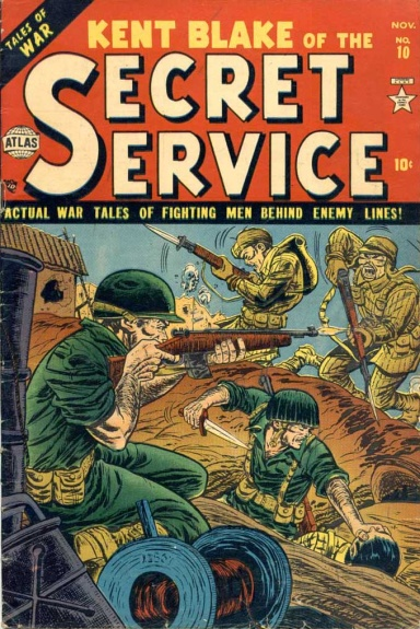Kent Blake of the Secret Service 10 Cover Image