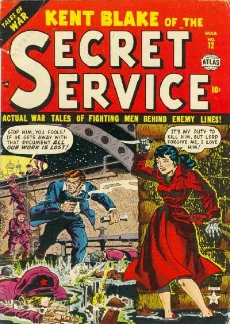 Kent Blake of the Secret Service 12 Cover Image